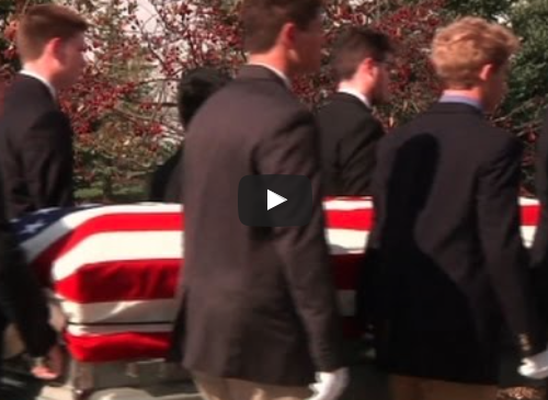 Six Boys Carrying Casket