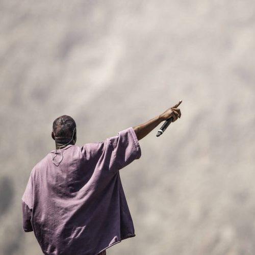 Kanye West's JESUS IS KING