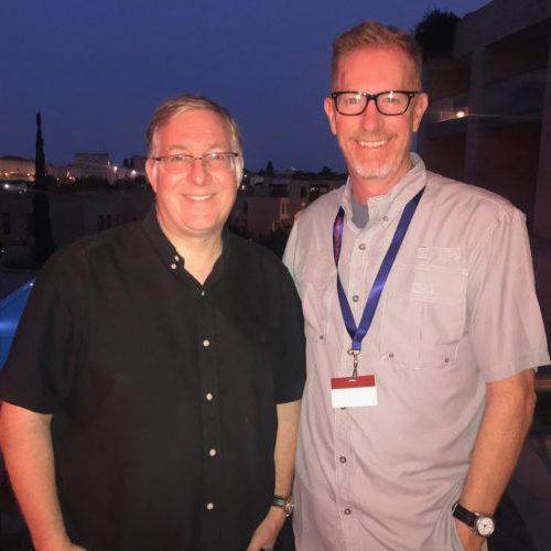 Joel Rosenberg + Lt. Gov. Dan Forest