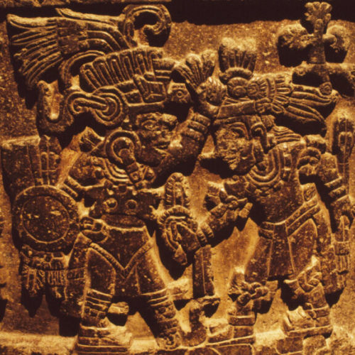 Worshipping Aztec gods!